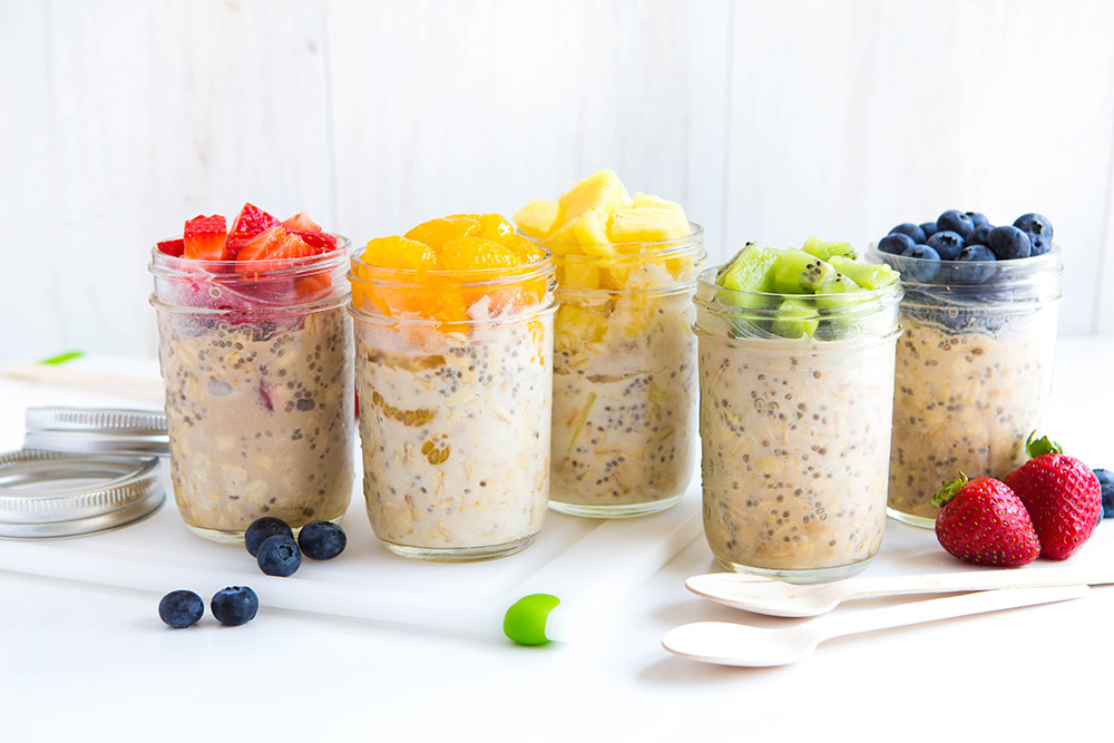 easy vegan overnight oats lawrence park health and wellness clinic. Black Bedroom Furniture Sets. Home Design Ideas