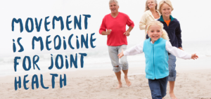movement is medicine for joint health