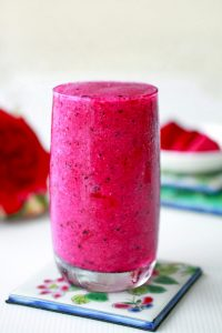 red fruit smoothie